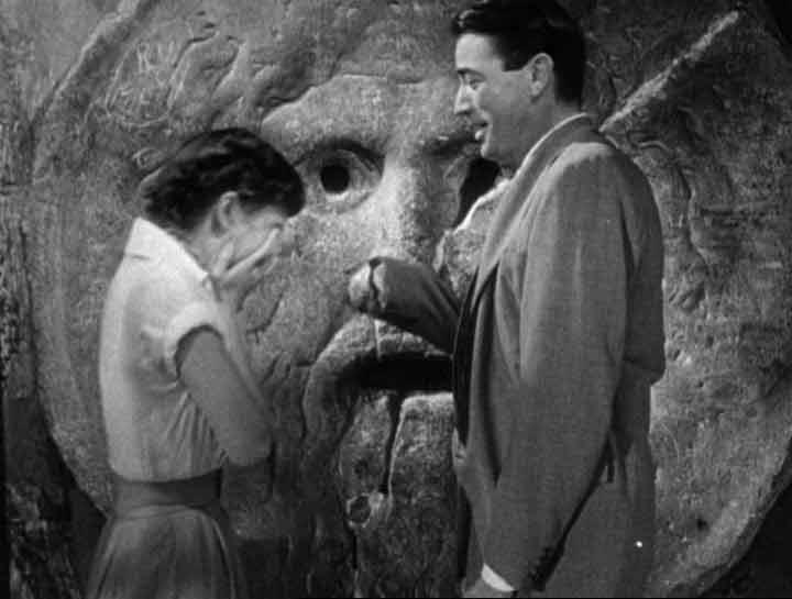Audrey Hepburn Gregory Peck Bocca della Verità Mund der Wahrheit Film