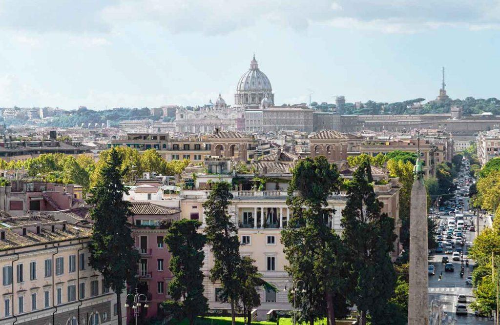 Aussichtspunkt Rom Park Villa Borghese
