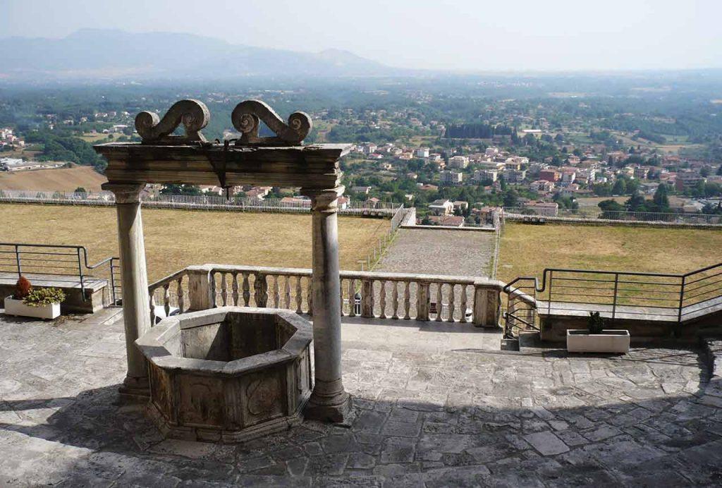 Barberini Palast Blick Palestrina