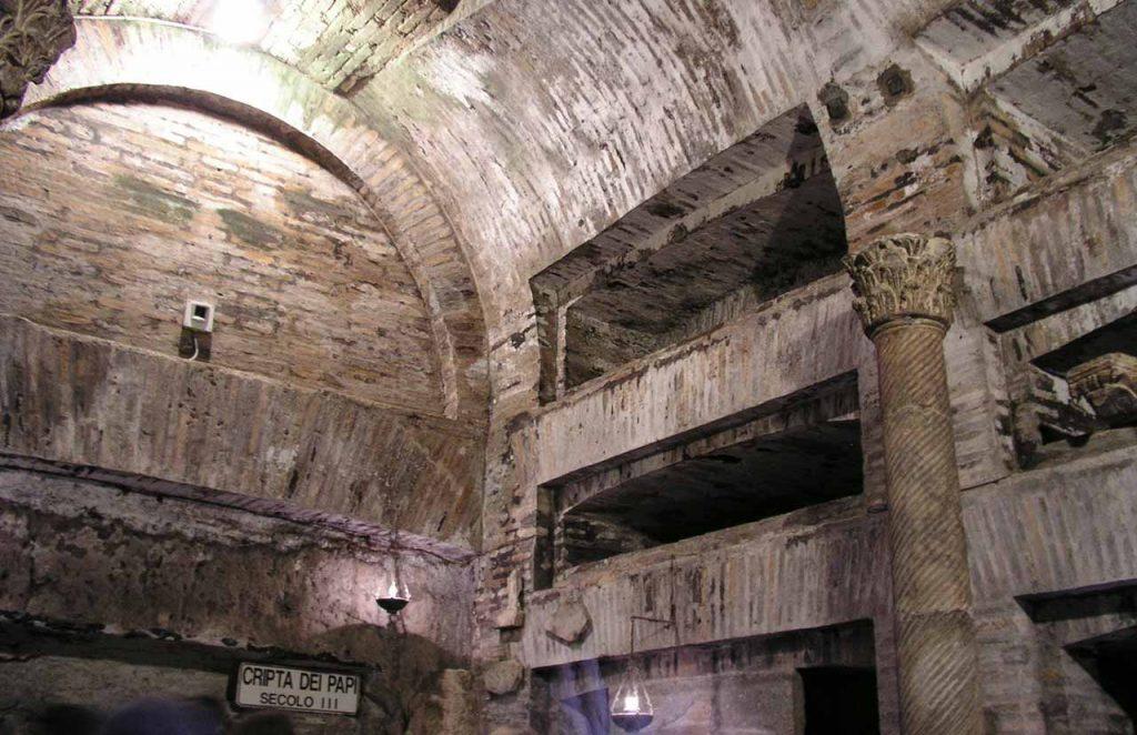 Calixtus Katakomben in Rom