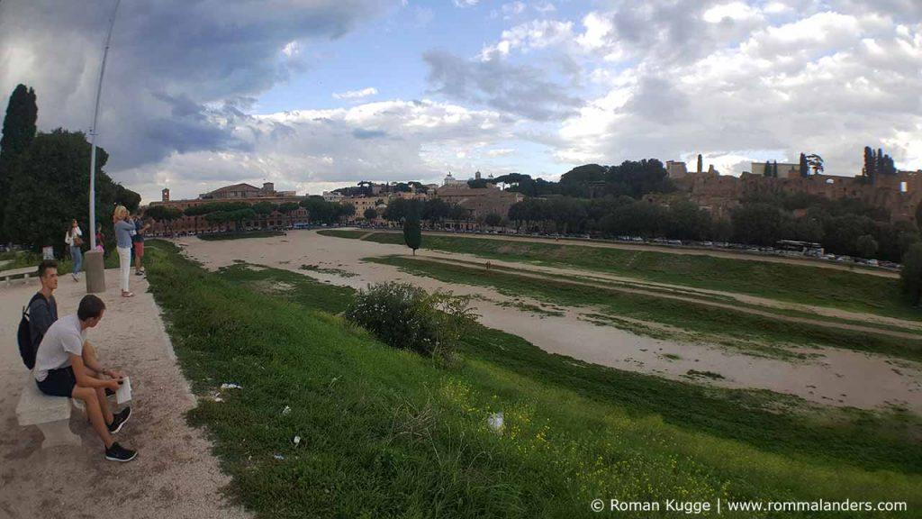 Circus Maximus in Rom Wagenrennen