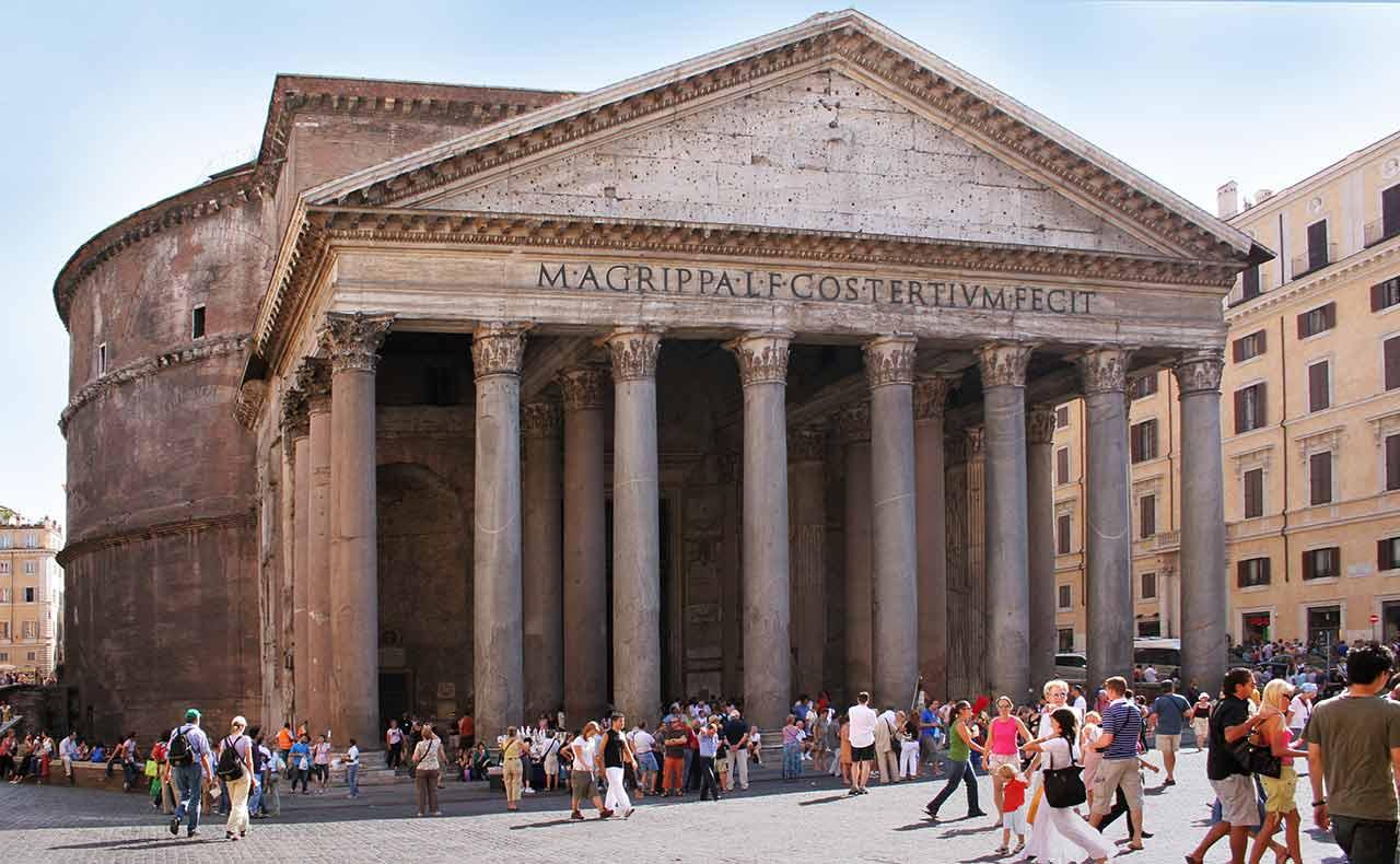 pantheon in rom infos preise ffnungszeiten rom mal. Black Bedroom Furniture Sets. Home Design Ideas