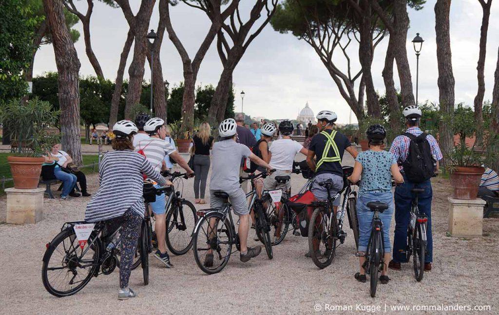 Fahrradtour durch Rom