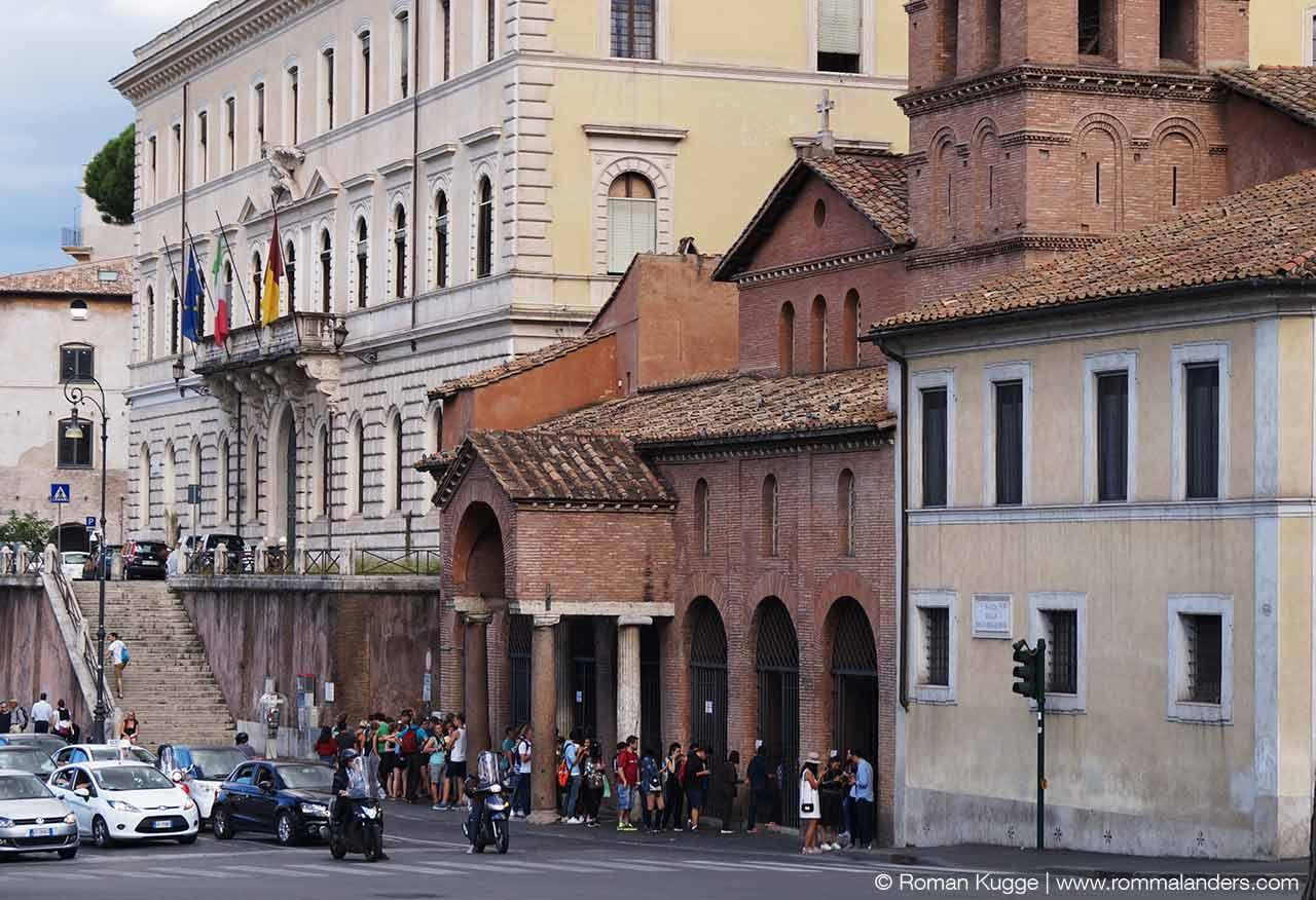 Kirche Santa Maria Cosmedin Bocca della Verità Rom