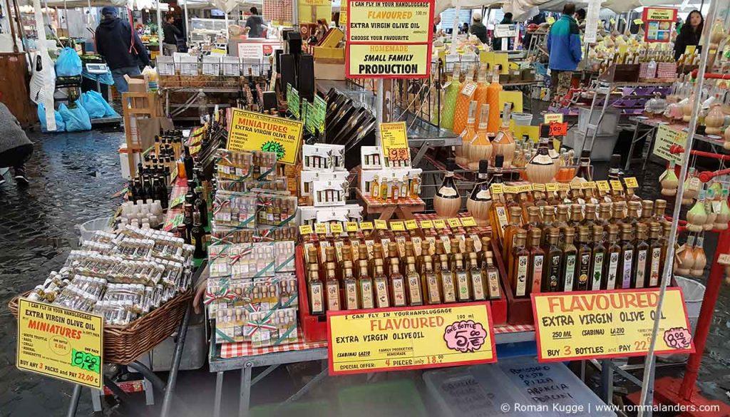 Markt Campo de Fiori Touristenfalle