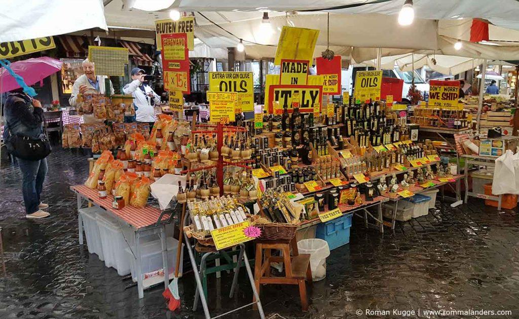 Campo de Fiori Rom Touristenfalle Markt