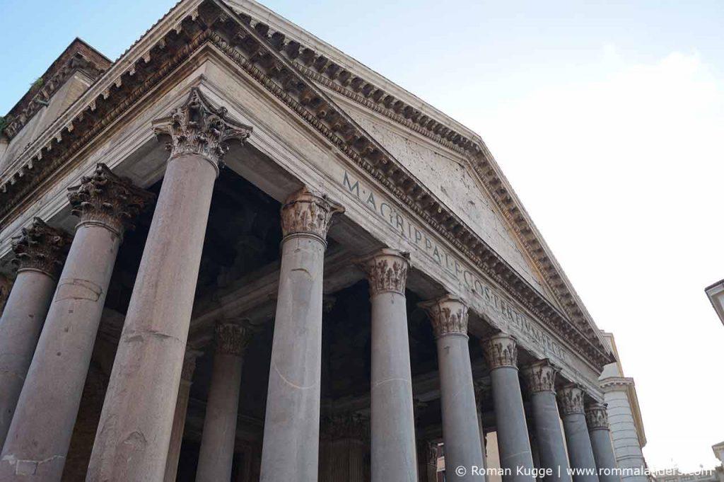 Pantheon in Rom Fassade