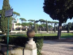 Park Villa Borghese in Rom Piazza di Siena