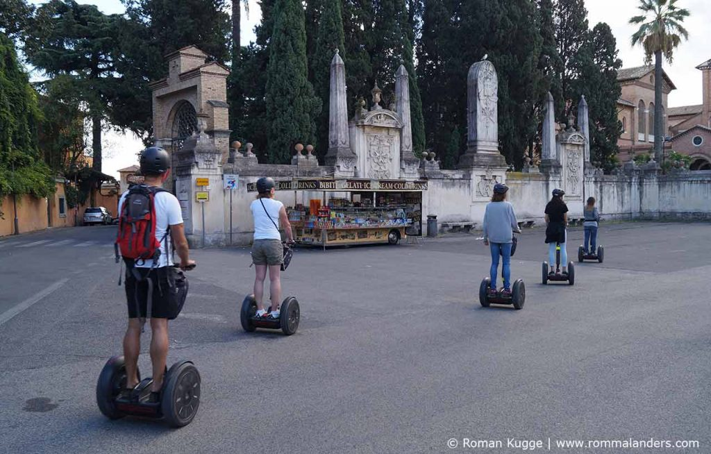 Segway Touren durch Rom