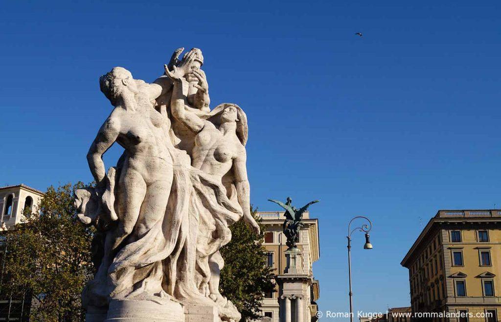 Statuen Engelsburg Rom