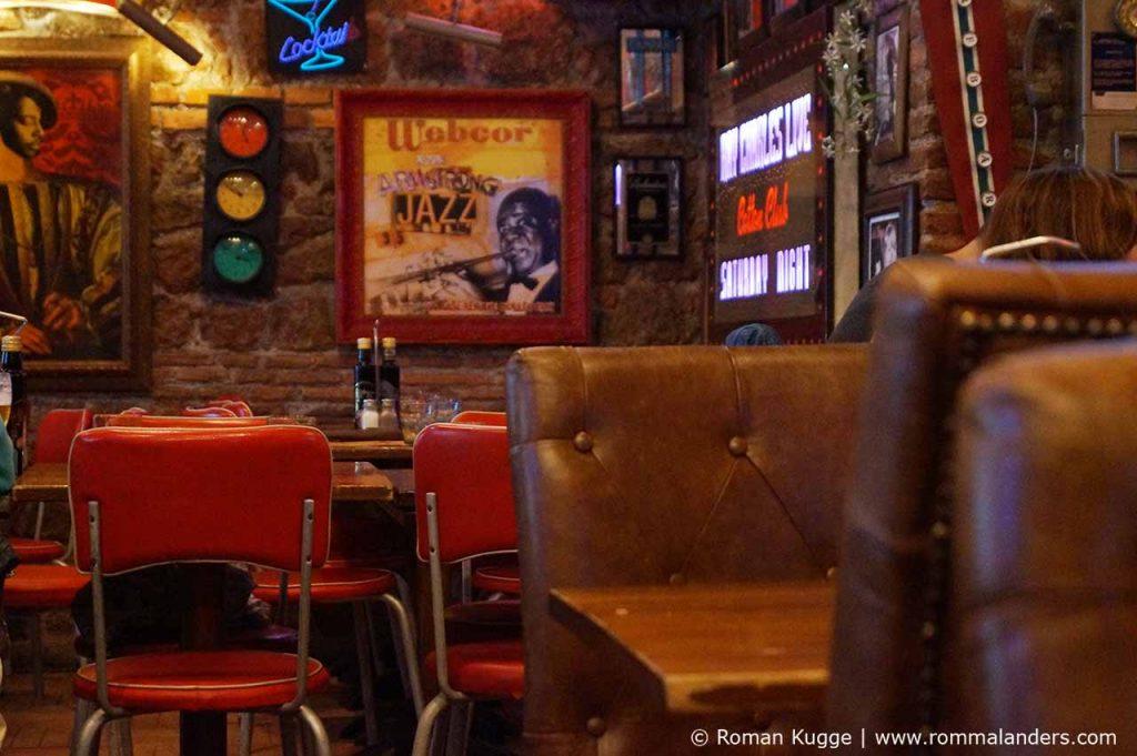 Ungewöhnliche Pizzeria in Rom
