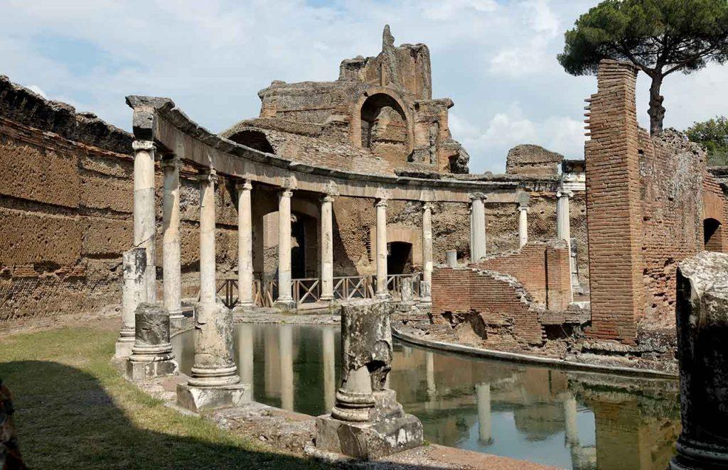 Hadriansvilla in Tivoli