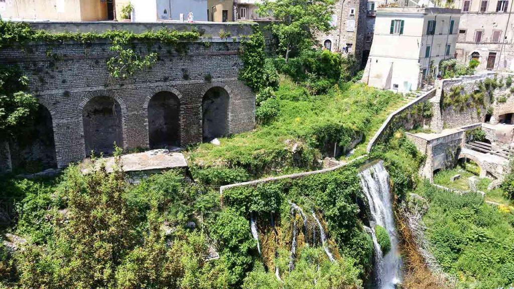 Villa Gregoriana in Tivoli