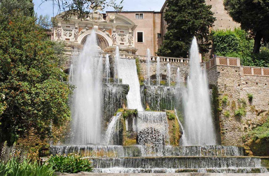 Villa d'Este Neptun-Brunnen