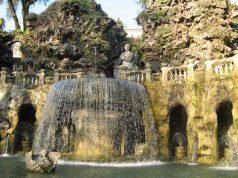 Villa d'Este Ovaler Brunnen