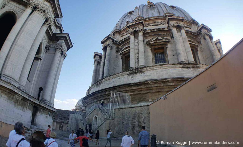 Aufstieg Kuppel Petersdom