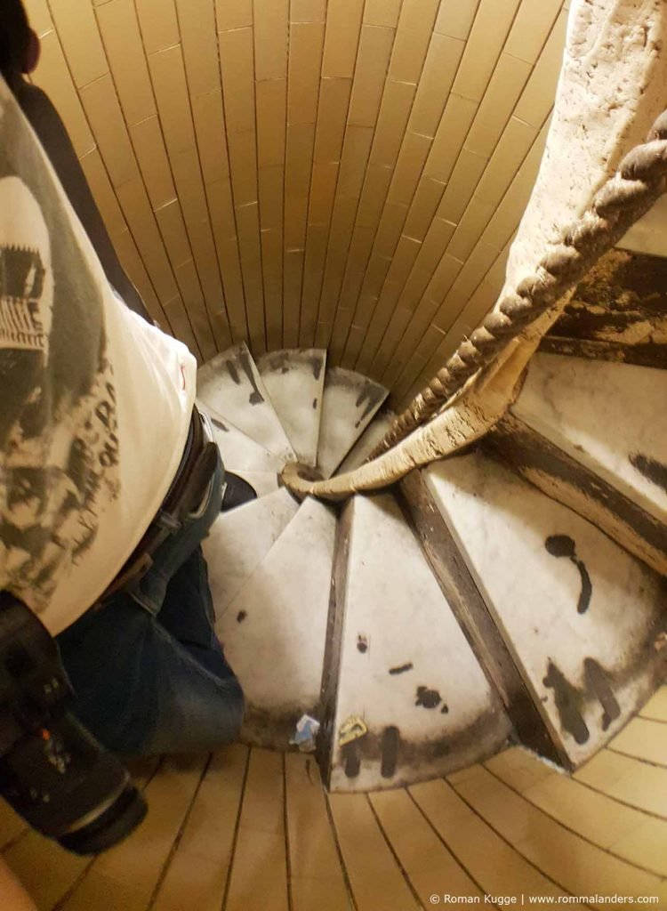 Aufstieg Petersdom Kuppel Stufen