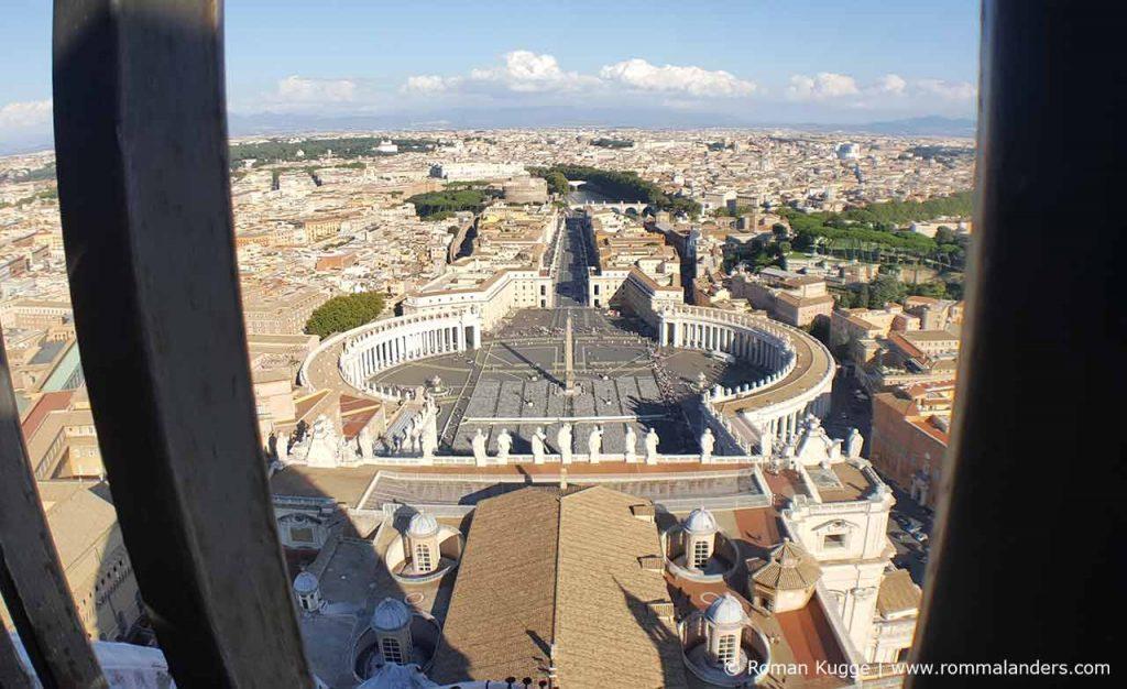 Ausblick Kuppel Petersdom
