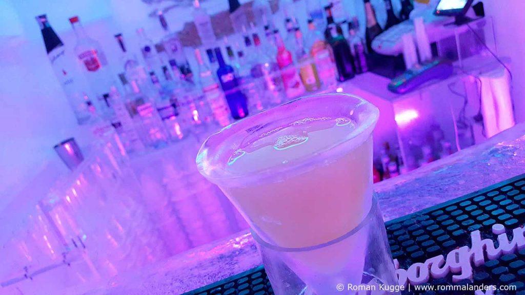 Cocktails Ice Bar Rom