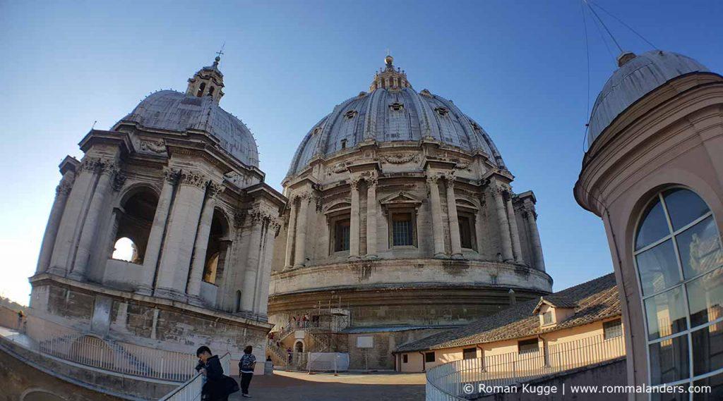 Dach Vatikan Kuppel Petersdom