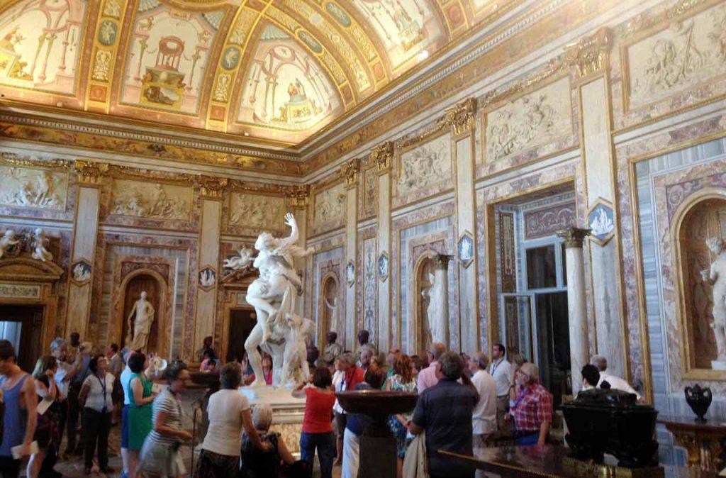 Galleria Borghese Hall of Emperors