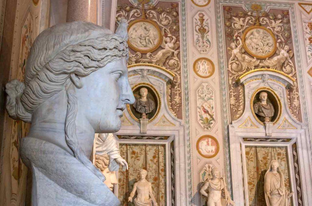 Statue Skulptur Galleria Borghese Rom