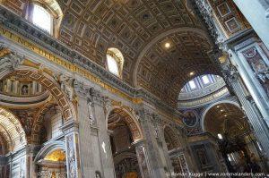 Petersdom Vatikan Innen