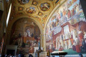 Vatikanische Museen Rafael Stanzen