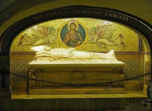 Grotten des Vatikans Petersdom Grab Papst Pius XI
