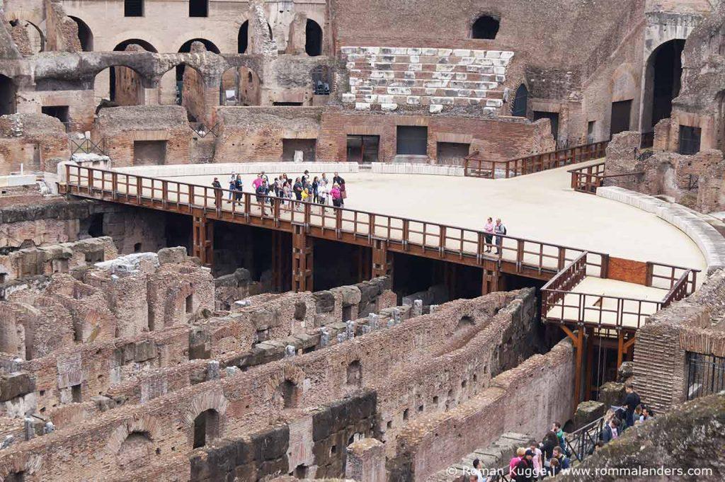 Hypogeum im Kolosseum
