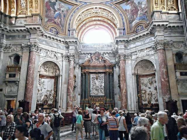 Kirche Sant'Agnese Piazza Navona