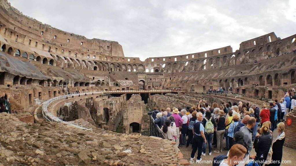 Kolosseum Besucher