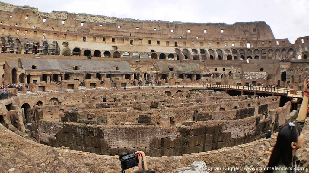 Kolosseum Rom Hypogeum