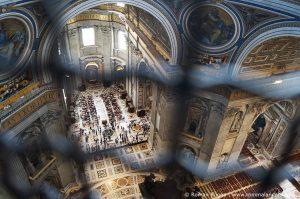 Kuppel Petersdom Aussicht Innen