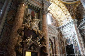 Petersdom Rom Innenbereich