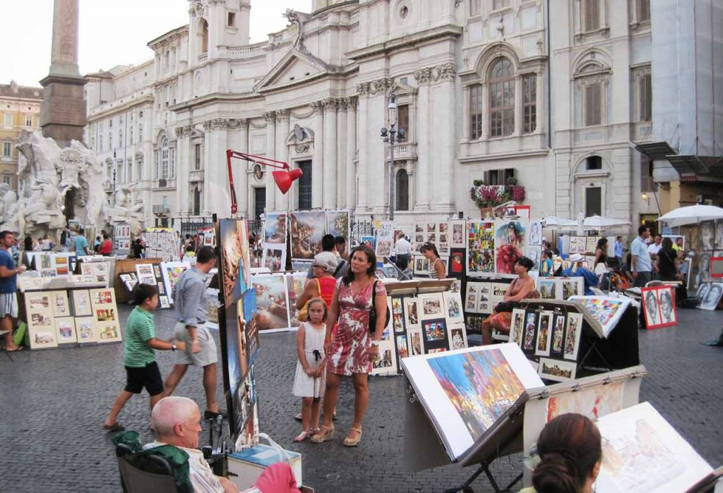 Piazza Navona Künstler