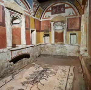Vatikan Nekropole Petersdom