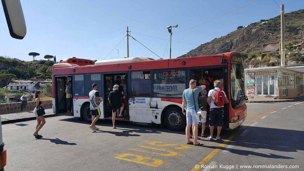Öffentliche Verkehrsmittel Busse Ischia (5)