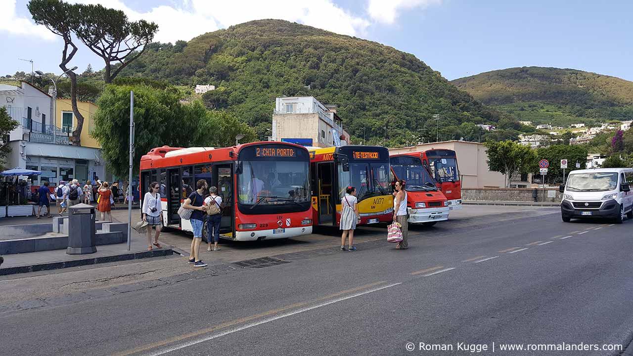 Öffentliche Verkehrsmittel Ischia