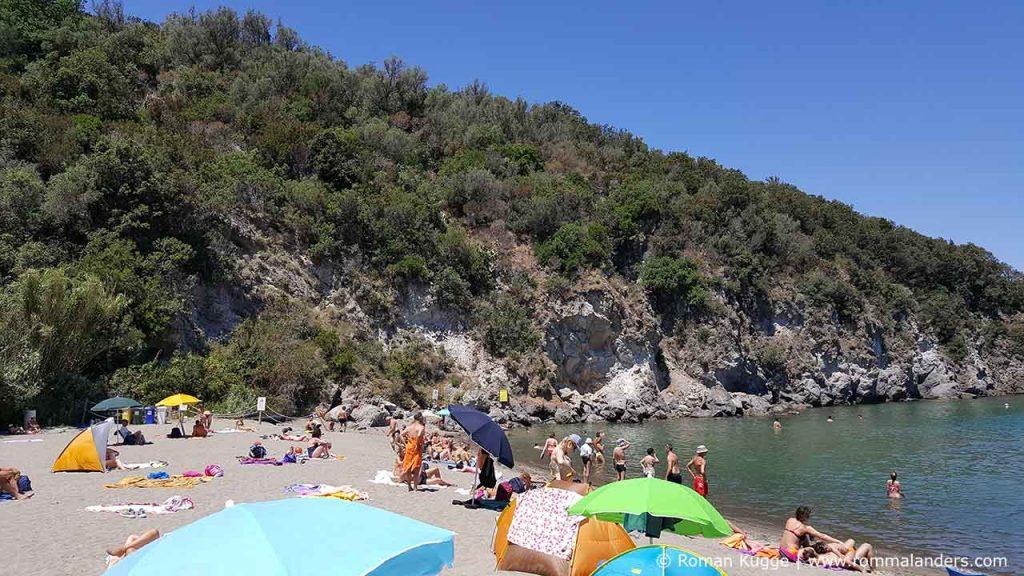 Strand Ischia San Montano