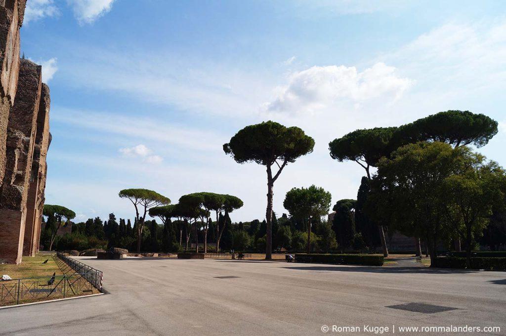 Caracalla Thermen in Rom Rollstuhl Park
