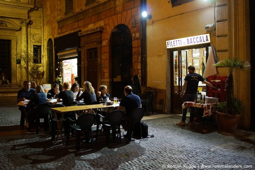 Dar Filetarro Filetti di Baccala Rom