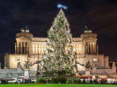 Il Vittoriano Weihnachten Weihnachtsbaum Rom