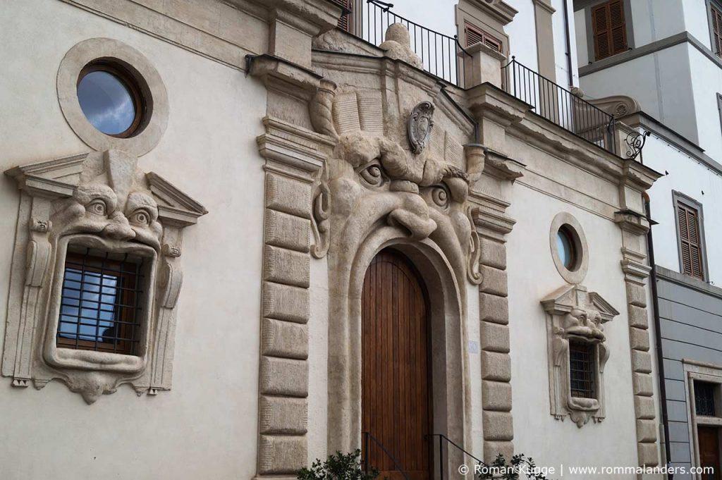 Monsterhaus Rom Palazzo Zuccari