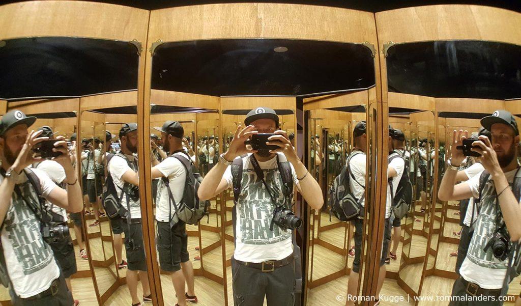 Museum Leonardo Da Vinci Experience Rom Spiegelkabinett