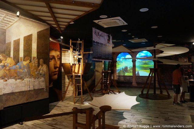 Museum Leonardo Da Vinci Experience Rom
