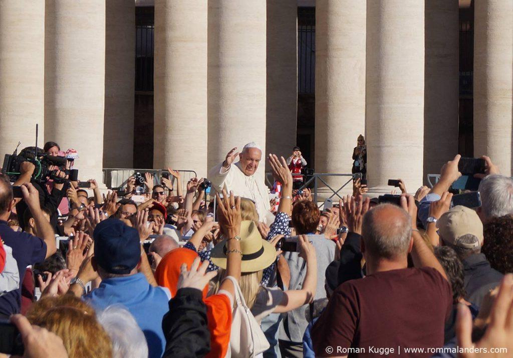 Papst Generalaudienz Papstmesse Rom