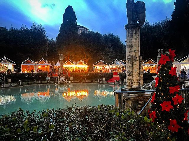 Piazza Mazzini Weihnachtsmarkt Rom