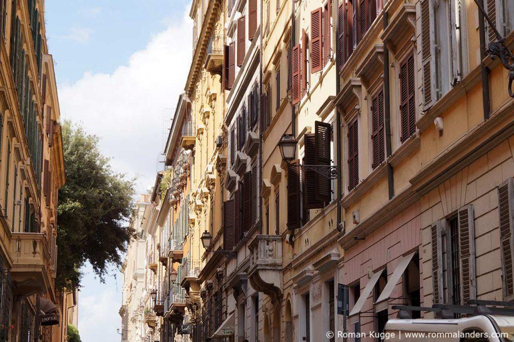 Via Gregoriana Monsterhaus Rom Palazzo Zuccari