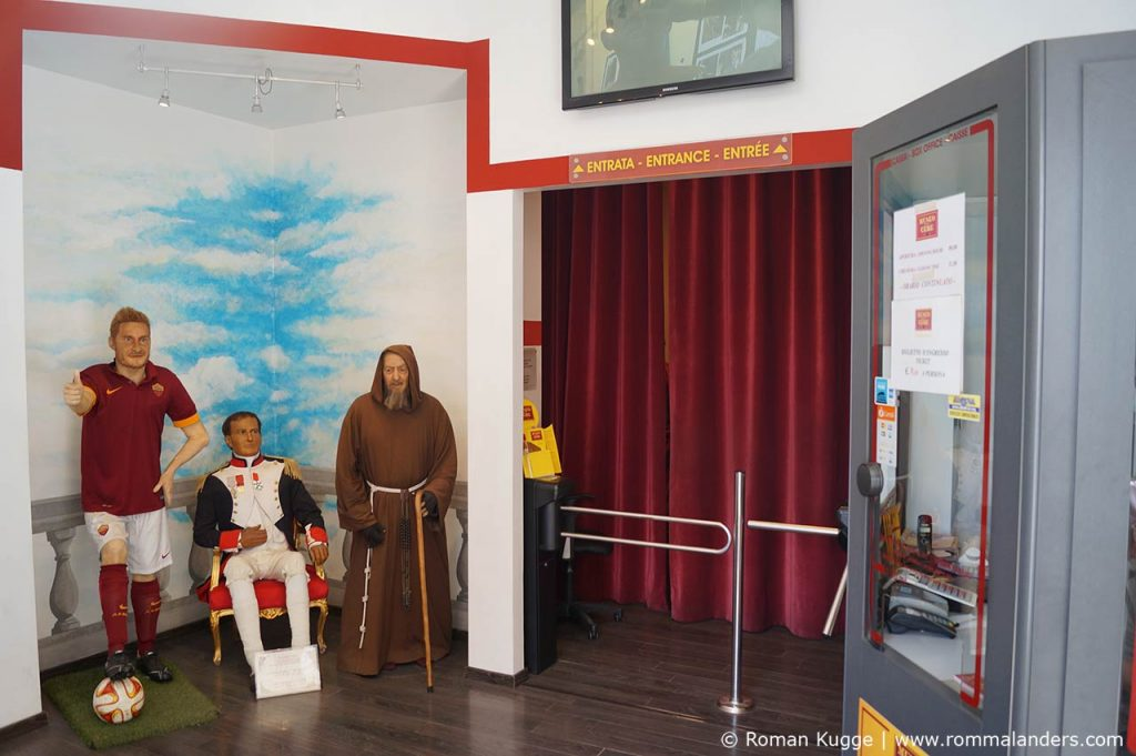 Wachsfigurenkabinett Rom Museo delle cere (3)